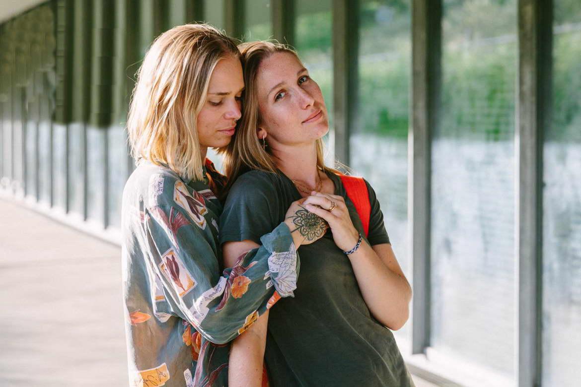 The wives Clare and Emmily on prejudice, equality and having children